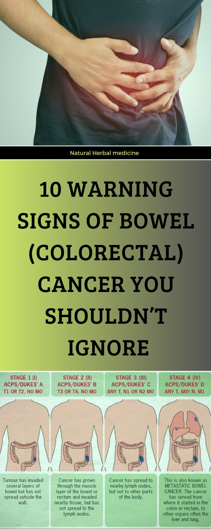 10 Warning Signs Of Bowel Colorectal Cancer You Shouldn -6273
