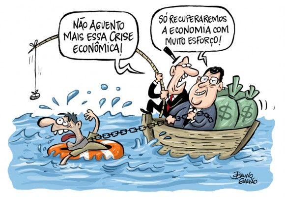 Crise na economia... para recuperar à custa de muita austeridade do povo?...