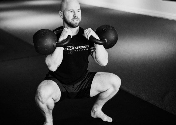 Build a Base of Strength with the 5RM Kettlebell Front Squat Program