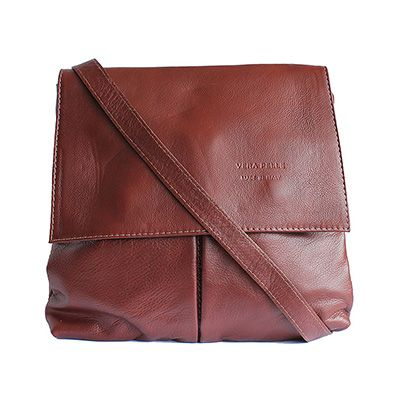 Brown Leather Ministry Bag/Satchel Bag - £39.99
