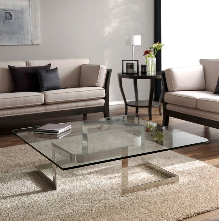 Mesa acero incox y cristal diferentes medidas http www for Mesas para esquinas