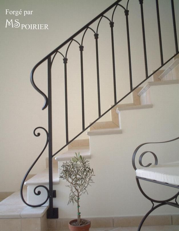 rampe escalier fer forg recherche google deco pinterest. Black Bedroom Furniture Sets. Home Design Ideas