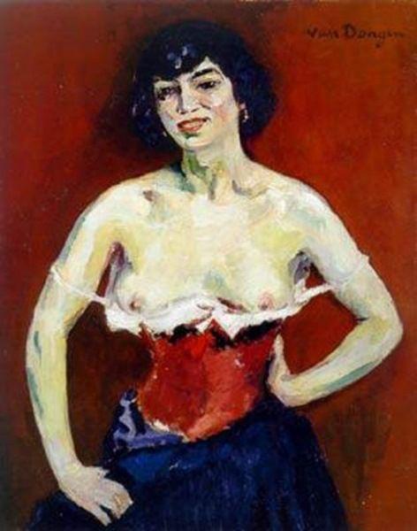 """Kees van Dongen    Dutch      1877 - 1968    """"Anita ou la Gitane Apprivoisee"""""""