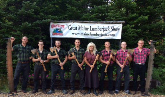 Timber Tina's Great Maine Lumberjack Show - as seen on Survivor Panama!