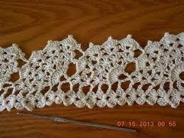 Resultado de imagen para puntas de tejido a gancho para servilletas