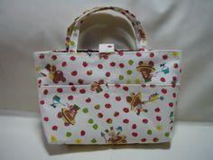 ☆型紙なしの バッグ In バッグ☆の作り方 バッグ ファッション小物 ハンドメイド・手芸レシピならアトリエ
