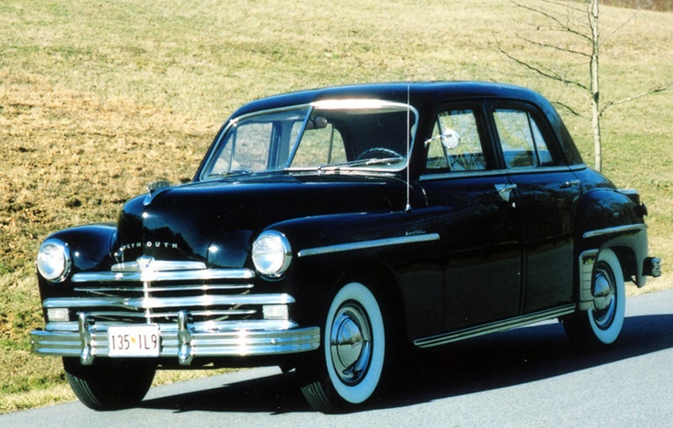 153 best plymouth 1942 1949 images on pinterest cars for 1949 plymouth 4 door