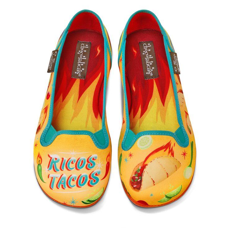 Chocolaticas® Tacos Women's Slip-On