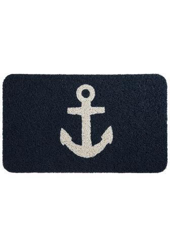 Tally Home Doormat: 18Inch, Doormats Blue, Kikkerland Anchors, Anchors Mats, Doormats 24, Anchors Doormats, Outdoor Doormats, Doors Mats, Products