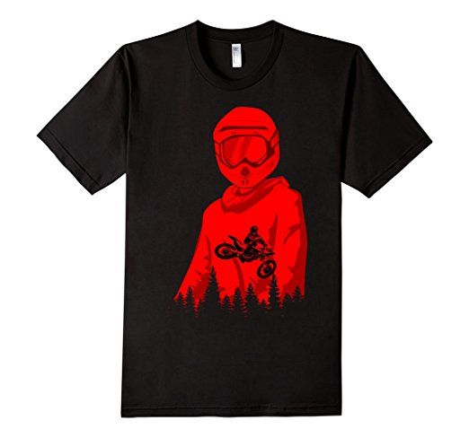 Amazon.com: motocross double exposure tshirt: Clothing