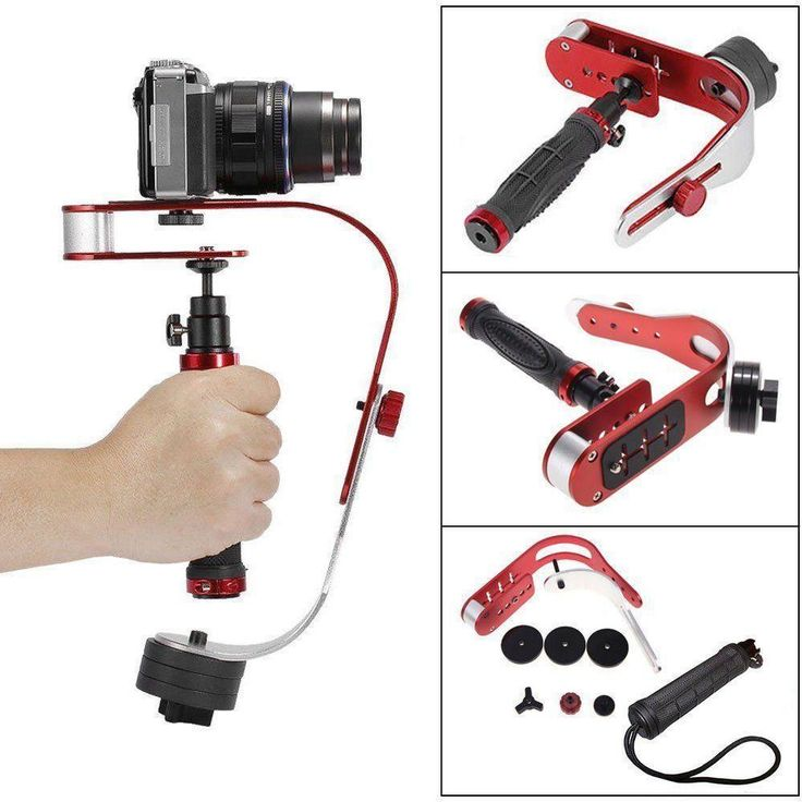 New PRO Handheld Video Stabilizer Steady cam for DSLR DV SLR Digital C