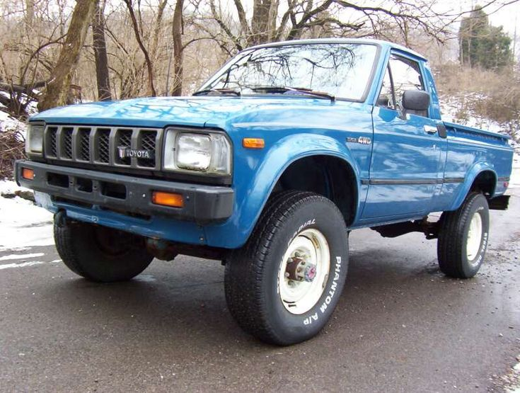 1982 Toyota 4x4 - old school cool