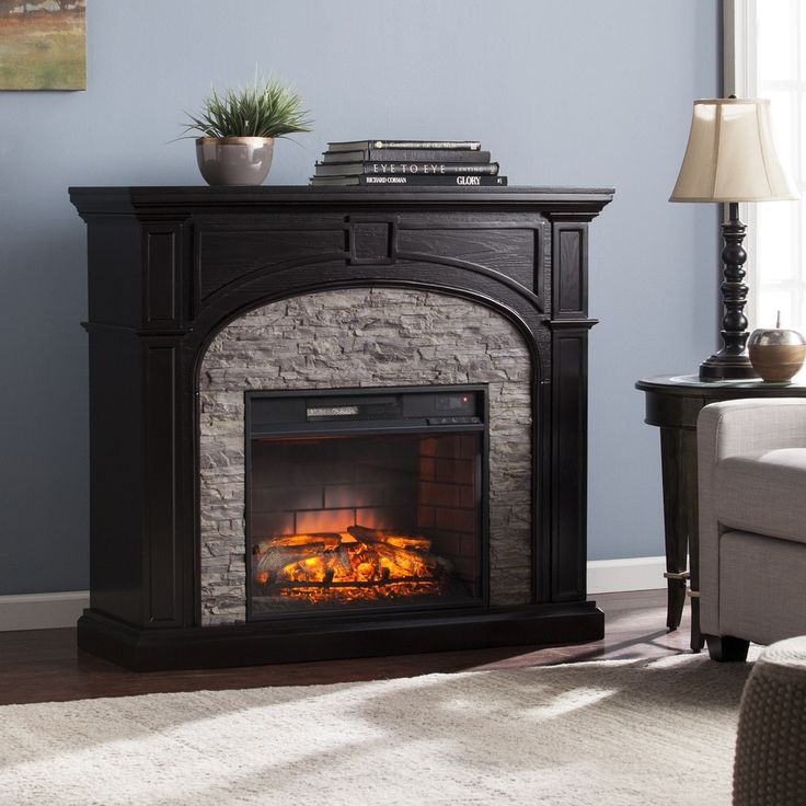 17 Best Ideas About Stone Electric Fireplace On Pinterest Fireplace Ideas Fireplace Mantels