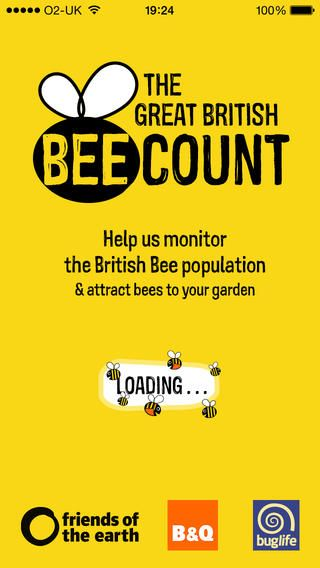 The Great British Bee Count - Friends of the Earth is launching the Great British Bee Count to get the nation buzzing about bees. The Great British Bee Count runs from June – August 2014. Download the app now to join this fun, family-friendly citizen science project. http://greatbritishbeecount.co.uk/ #titanium
