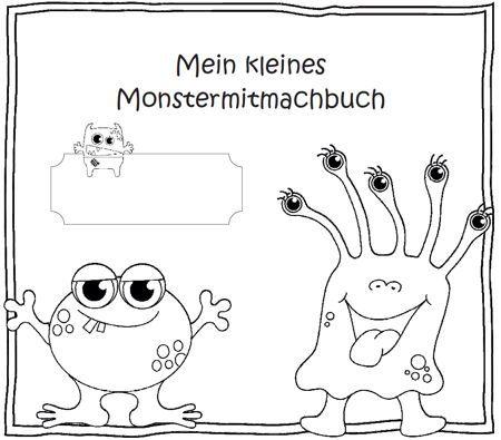 Die Kinder schneiden die Satzbausteine aus und kleben sie in der richtigen Reihenfolge auf das Blatt. Anschließend wird der Satz abgeschrieben und das zum Satz passende Monster ausgemalt.Wenn mann a