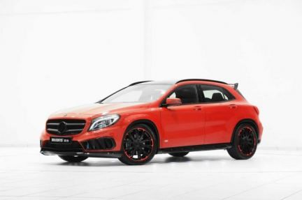 Mercedes Benz GLA AMG Sports Package by Brabus