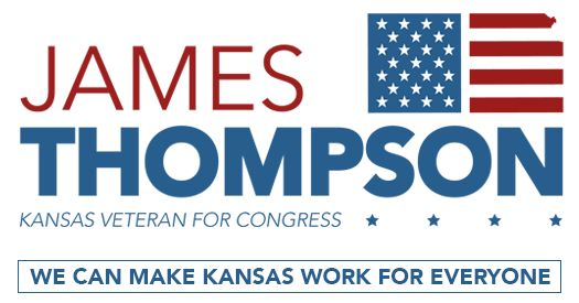 James Thompson is a father, a U.S. Army veteran and civil rights attorney who is running for Congress to make sure Kansas works for everyone.