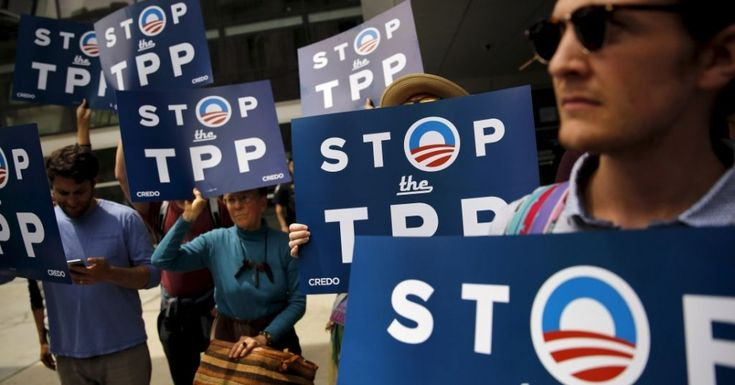 Backers of Sanders Mobilize to Overthrow DNC Platform's Pro-TPP Stance | Common Dreams - 30 June 2016