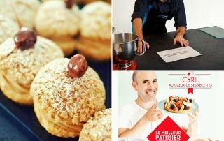 Cours de pâtisserie gratuit en direct sur Internet avec Johan Le Meilleur Patissier M6