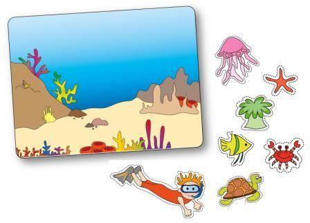 http://dessinemoiunehistoire.net/ Jeu de topologie sur le thème de la mer et des poissons
