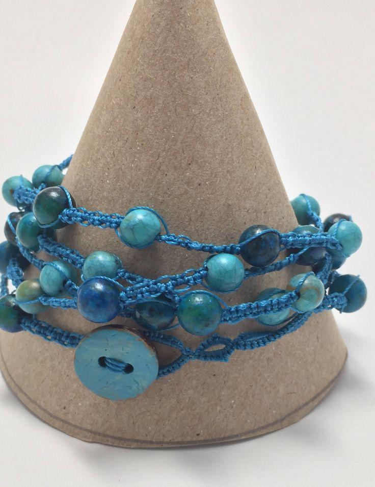 Le chouchou de ma boutique https://www.etsy.com/ca-fr/listing/535291339/elegant-bracelet-wrap-5-rangs-collier