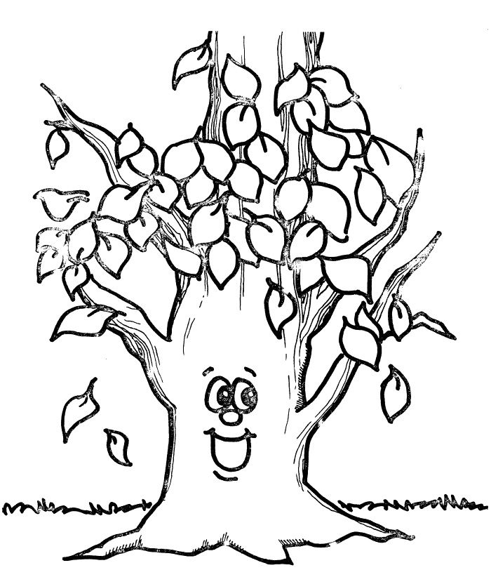 childrens fall coloring pages - photo#46