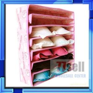 7 Cell Bra Underwear Drawer Container Storage Organiser | EBay