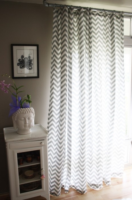 18 Best Chevron Curtains Images On Pinterest Chevron Valance Playroom And Window Dressings