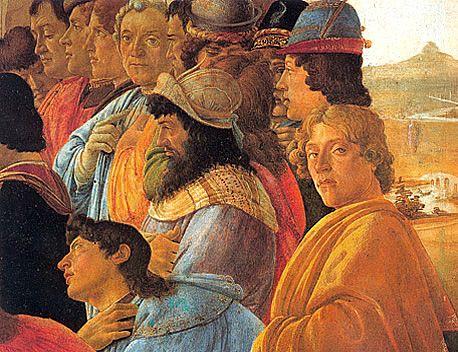 L'Adoration des Mages, Sandro Botticelli