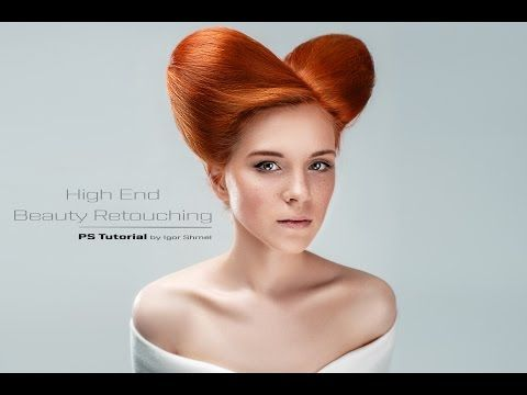 High End Beauty Retouching by Igor Shmel - YouTube
