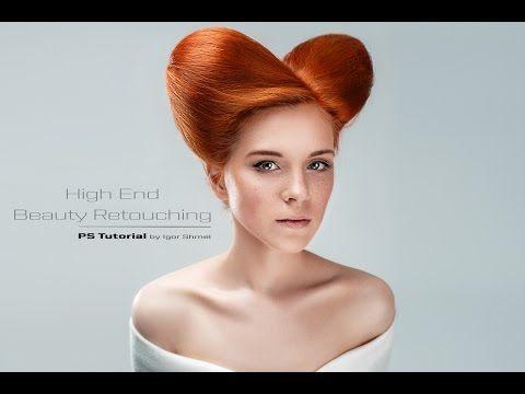 High End Beauty Retouching by Igor Shmel - YouTube