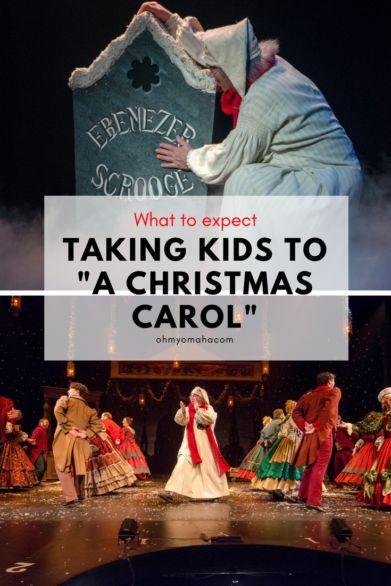 """Omaha's long-running holiday tradition, """"A Christmas Carol""""at Omaha Community Playhouse"""