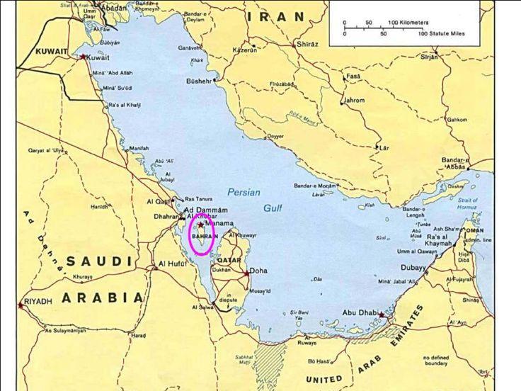 Bahrain | bahrain map