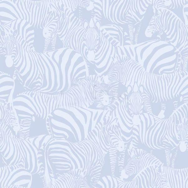 Fräck tapet med zebror från kollektionen Upstairs downstairs 346834. Klicka för att se fler inspirerande tapeter för ditt hem!