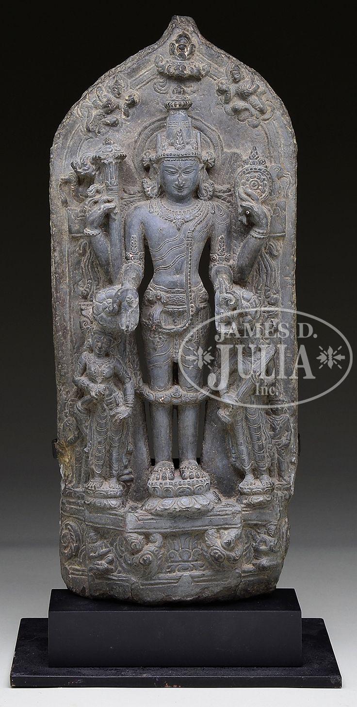 Pala dynasty Vishnu from James Julia auction, August 2014