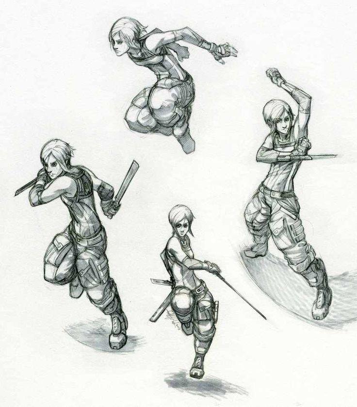 Reina- Movement Study by Tekka-Croe on @DeviantArt