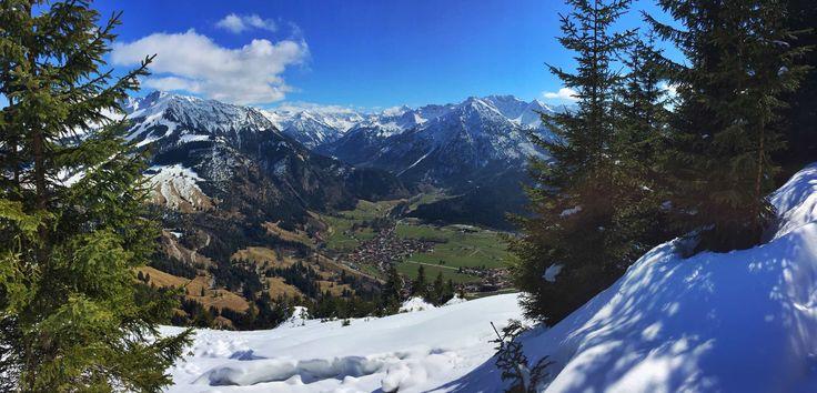 Hirschberg, 1456m - Bergtouren und Biketouren im Allgäu