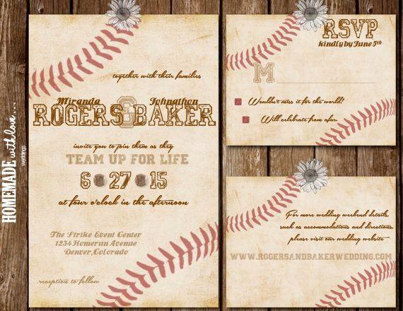 Baseball Wedding Invitation: Best 25+ Baseball Invitations Ideas On Pinterest