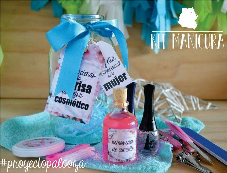 Womans day gift / manicure kit / set de manicura / regalos mujer / ideas