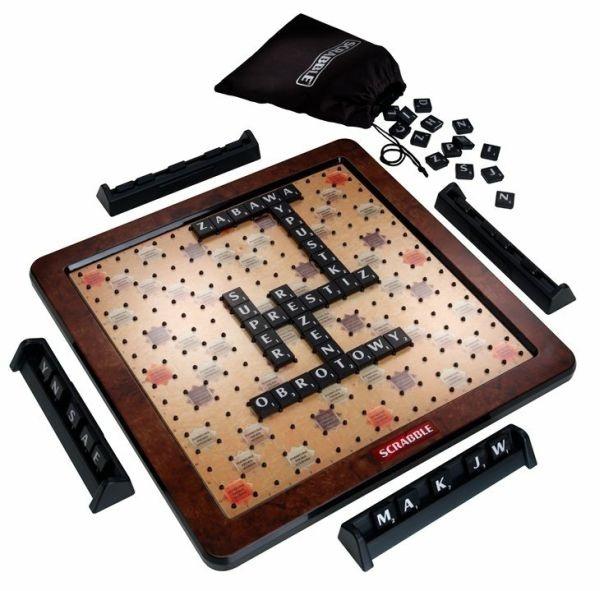 dlaniego.net : Scrabble Prestiż Deluxe MATTEL