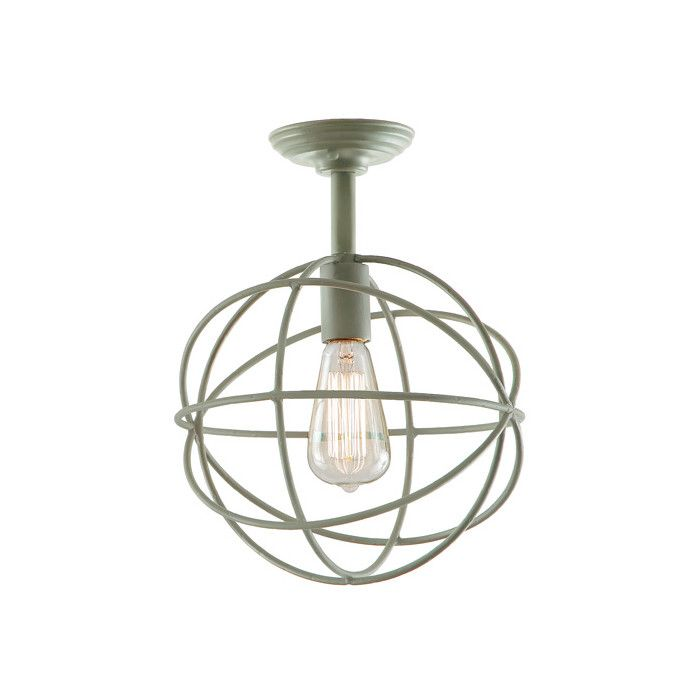 FREE SHIPPING! Shop Wayfair.ca for JVI Designs Globe 1 Light Semi Flush Mount - Great Deals on all  products with the best selection to choose from!