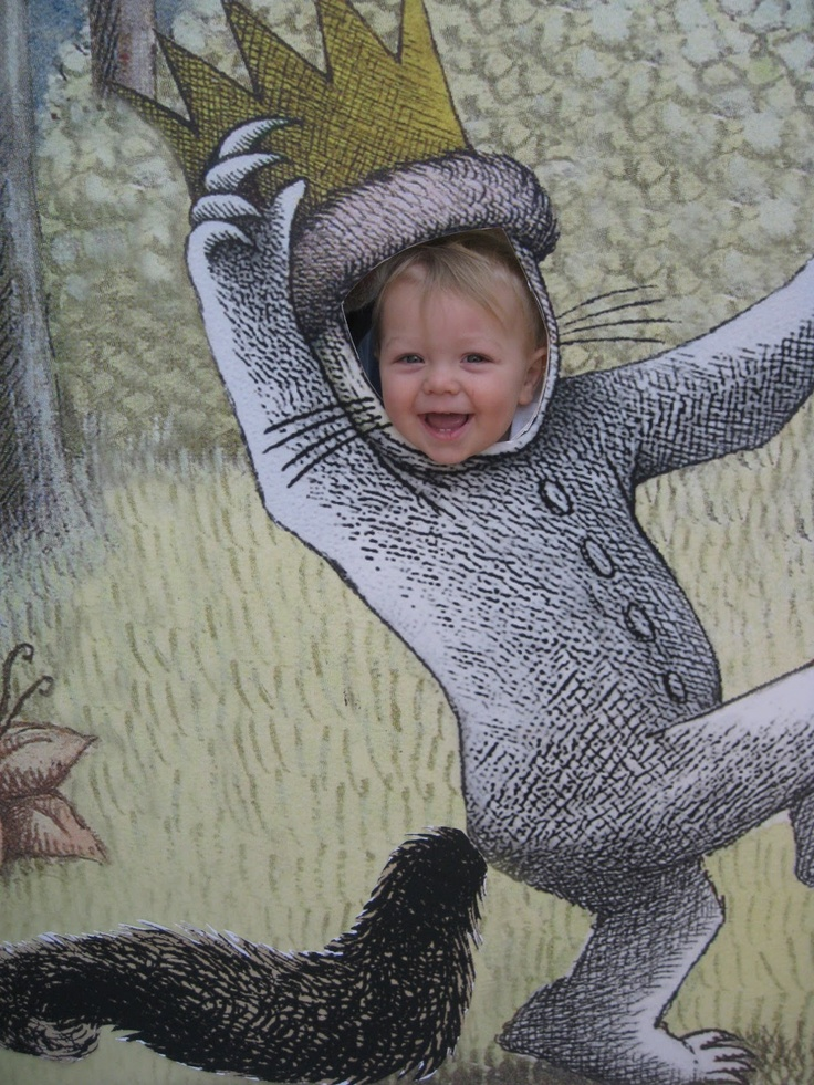 Photo cutout - where the wild things are.