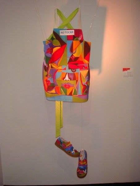 Delantal en lona y zapatos pintados a mano♥  Cali,Colombia