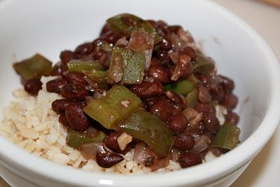 Quick Black Beans and Rice | Beans | Pinterest | Black Beans, Beans ...