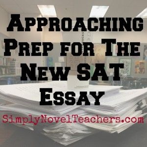 Tips for Approaching New SAT Prep
