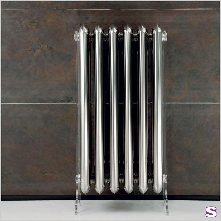 Design Saunaheizkörper Jovitt – SEBASTIAN e.K. – glatte, glänzende Oberfläche,  Wandmontage oder Plexifüße als Standheizkörper #bathroom
