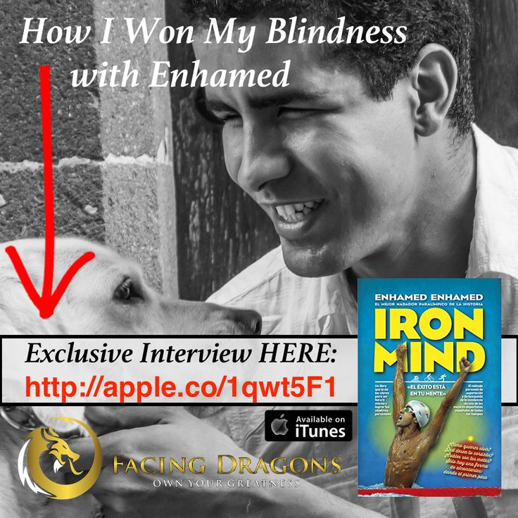 FD9: I WON MY BLINDNESS – OLYMPIC WORLD RECORD SWIMMER @ENHAMED