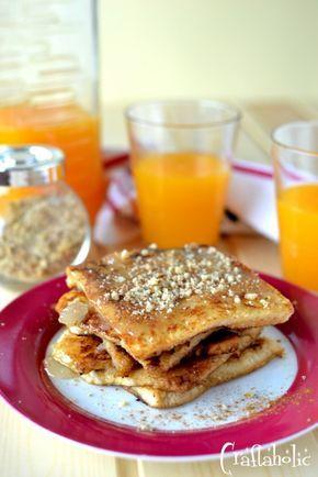 Οι πιο εύκολες τηγανίτες με ψωμί του τοστ - Craftaholic