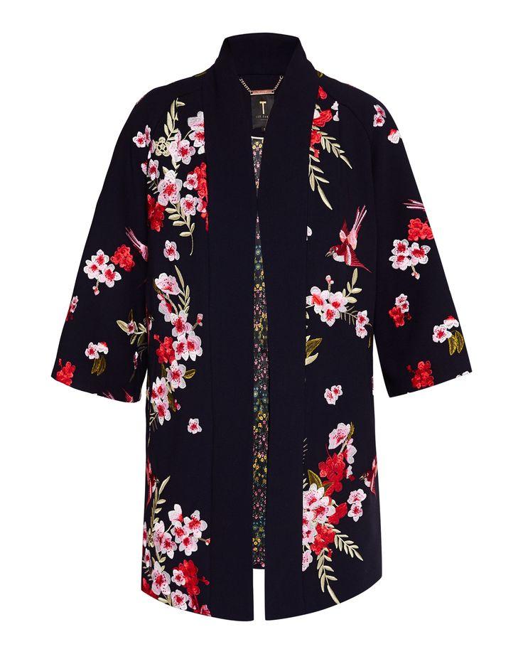 Ted baker Aurian Bird and Blossom Kimono