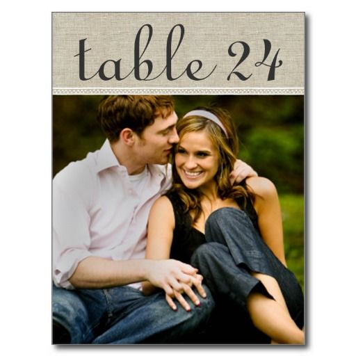 wedding photo table number templates